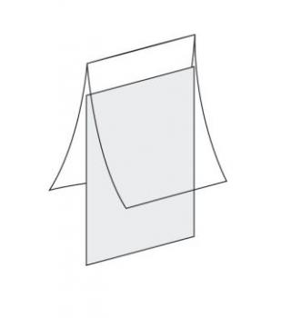ladenausstattung rahmen f r plakate t st ck klemmfuss f r rohre. Black Bedroom Furniture Sets. Home Design Ideas